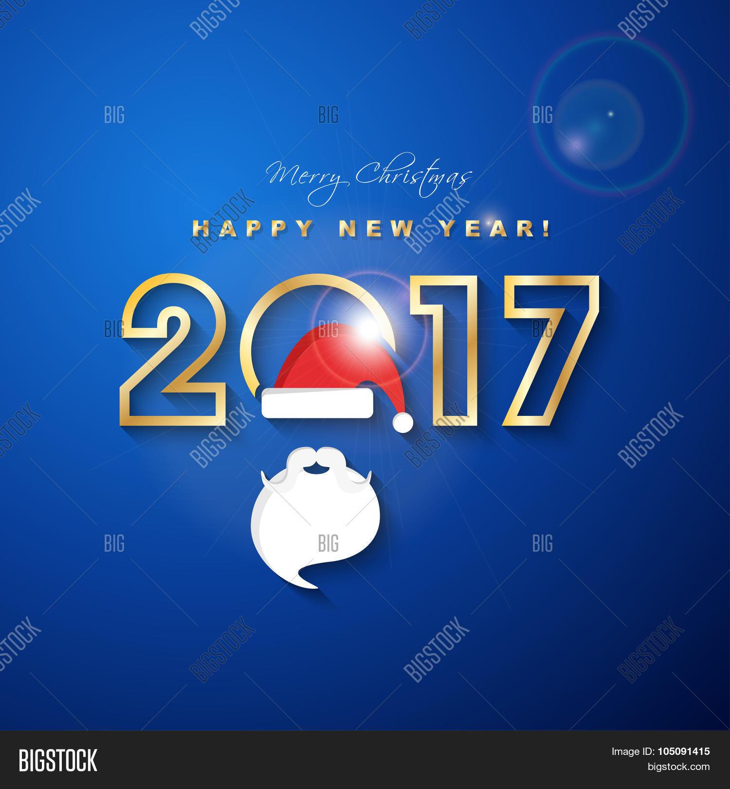 2017 Merry Christmas Vector Photo Free Trial Bigstock