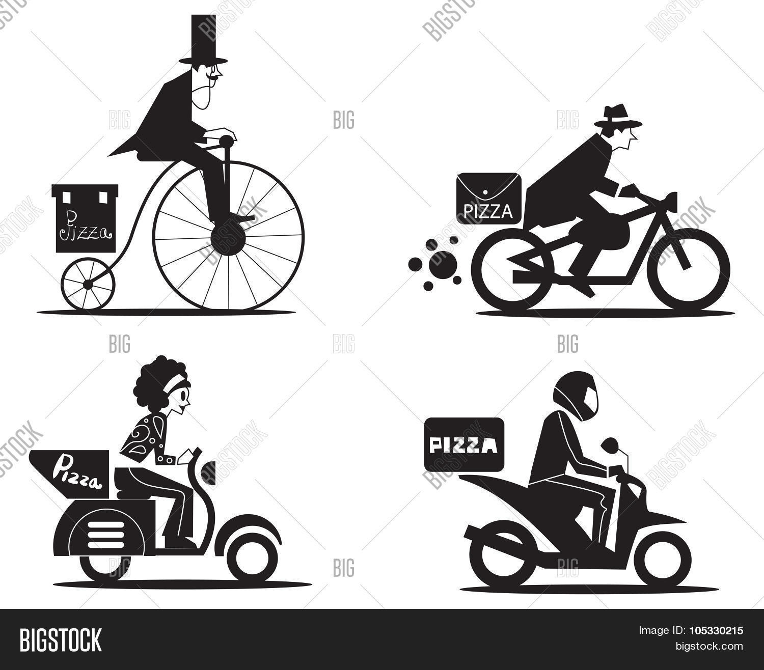 Pizza Express Vector Photo Free Trial Bigstock