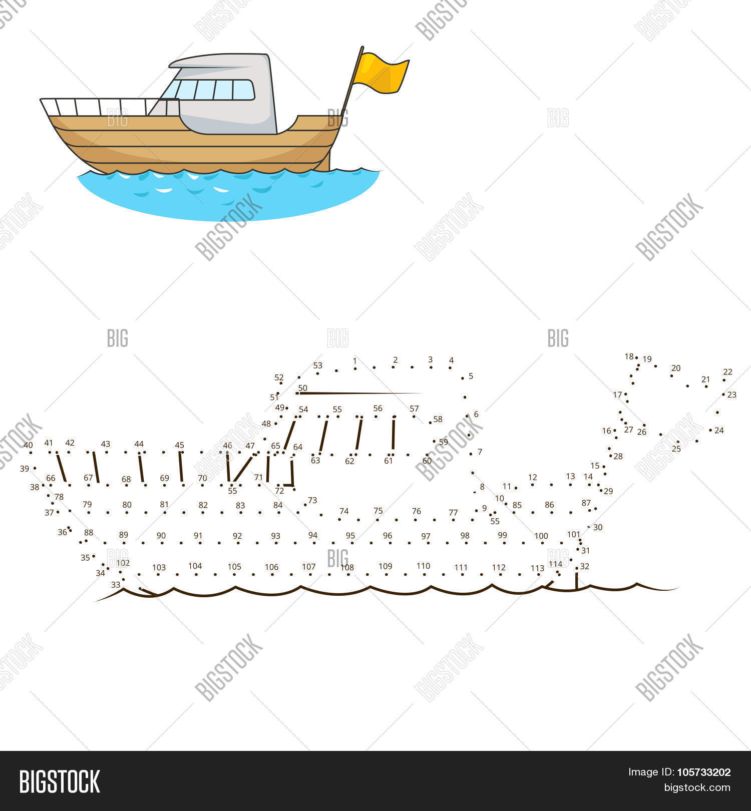 Connect Dots Draw Vector & Photo (Free Trial) | Bigstock