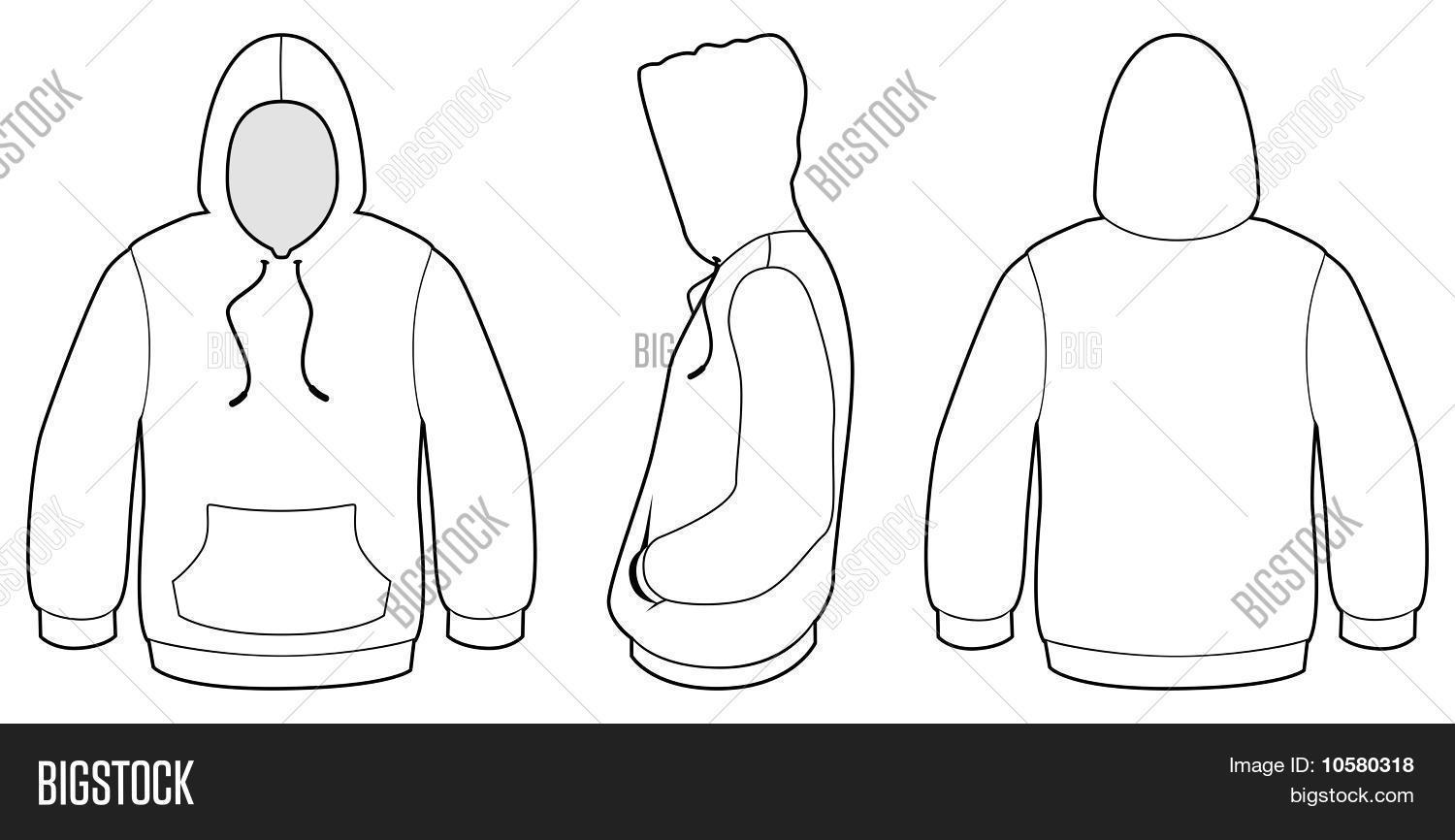 Hooded Sweater Vector & Photo (Free Trial) | Bigstock