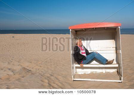 Sleeping At The Quiet Beach