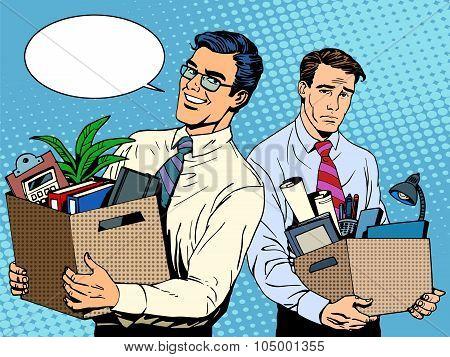 job dismissal and employment