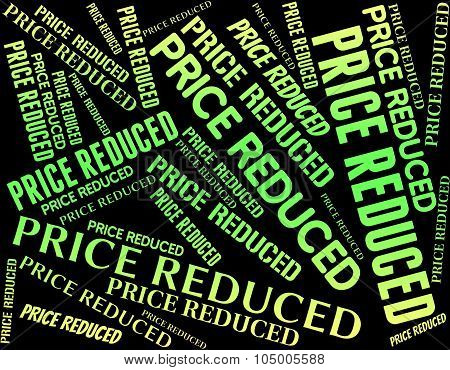Price Reduced Meaning Charge Outlay And Levy poster