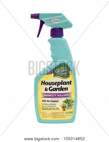 Bottle Of Schultz Houseplant & Garden  Insect Killer