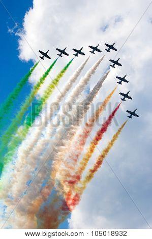 Frecce Tricolori Demo Team