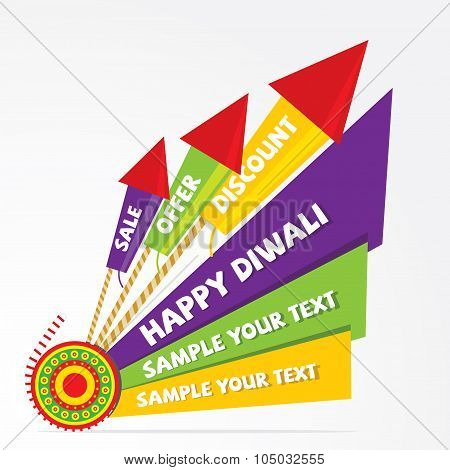 diwali offer banner design