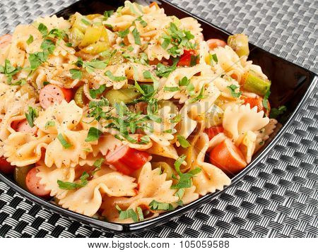 Pasta Collection - Farfale With Sausages
