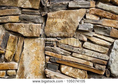Background of exactly hewn stone