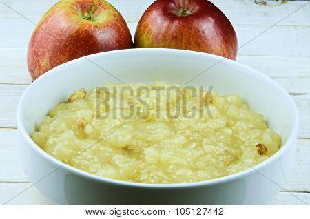 Applesauce..