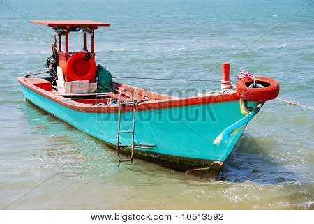 Fishery Boat In Thailand.