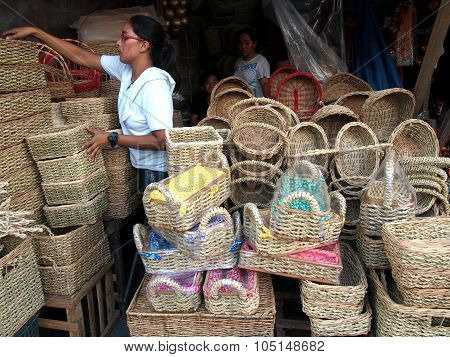 Flea market store in Dapitan Arcade
