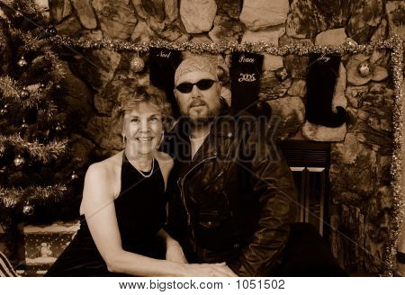 Biker And His Lady
