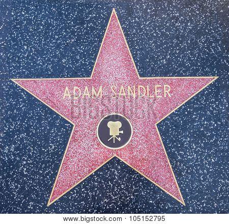 Adam Sandler Star