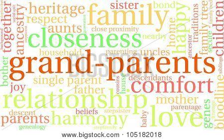 Grand-Parent Word Cloud