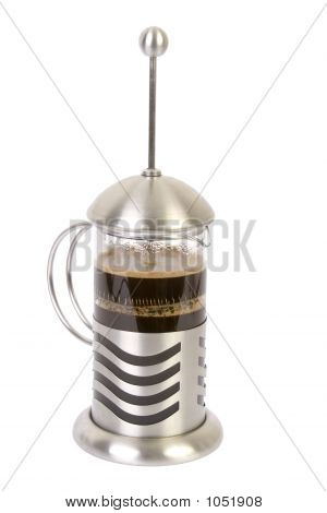 Cafetiere Isolated