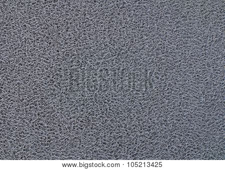 Texture Background Of The Green Plastic Doormat