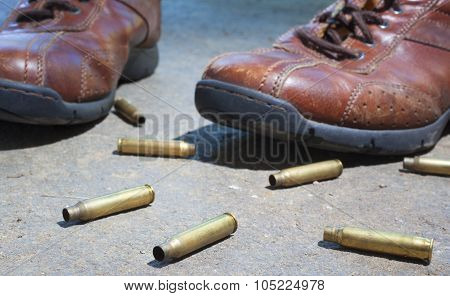 Shoes And Bullets