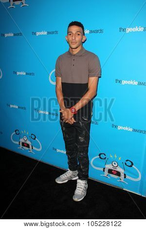 LOS ANGELES - OCT 15:  Khleo Thomas at the 2015 Geekie Awards at the Club Nokia on October 15, 2015 in Los Angeles, CA