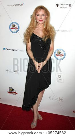 LOS ANGELES - OCT 17:  Rebecca Holden at the  LAPD Eagle & Badge Foundation Gala at the Century Plaza Hotel on October 17, 2015 in Century City, CA