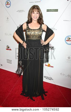 LOS ANGELES - OCT 17:  Kate Linder at the  LAPD Eagle & Badge Foundation Gala at the Century Plaza Hotel on October 17, 2015 in Century City, CA