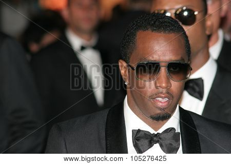 CANNES, FRANCE - MAY 20: Actor and Musican Sean Diddy Combs attends the 'Changeling' Premiere at the Palais des Festivals during the 61st Cannes  Film Festival on May 20, 2008 in Cannes, France.