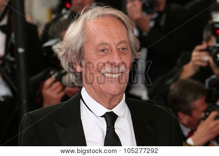 CANNES, FRANCE - MAY 13: Actor Jean Rochefort attends the 'Up' Premiere at the Palais des Festivals during the 62nd Annual Cannes Film Festival on May 13, 2009 in Cannes, France.