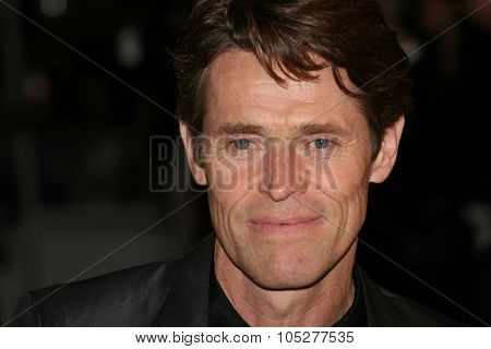 CANNES, FRANCE - MAY 18: Willem Dafoe attends the 'Antichrist' premiere at the Grand Theatre Lumiere during the 62nd Annual Cannes Film Festival on May 18, 2009 in Cannes, France