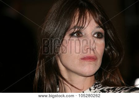 CANNES, FRANCE - MAY 18: Actress Charlotte Gainsbourg attends the 'Antichrist' premiere at the Grand Theatre Lumiere during the 62nd Annual Cannes Film Festival on May 18, 2009 in Cannes, France.