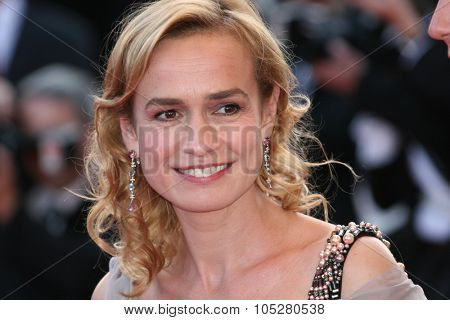 CANNES, FRANCE - MAY 24: Sandrine Bonnaire attend the 'Coco Chanel & Igor Stravinsky' Premiere at the Palais De Festivals during the 62nd  Cannes Film Festival on May 24, 2009 in Cannes, France