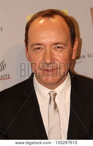 BERLIN, GERMANY - FEBRUARY 11: Kevin Spacey arrives for the 'Margin Call' - party during day two of the 61st Berlin International Film Festival at San Nicci on February 11, 2011 in Berlin, Germany.
