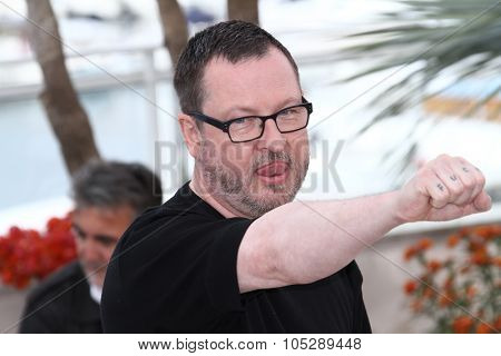 CANNES, FRANCE - MAY 18: Director Lars Von Trier attends the 'Melancholia' photocall at the Palais des Festivals during the 64th Cannes Film Festival on May 18, 2011 in Cannes, France