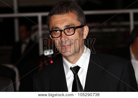 CANNES, FRANCE - MAY 21: Director Nuri Bilge Ceylan attends the 'Bir Zamanlar Anadolu'Da' Premiere at Palais des Festivals during the 64th Annual Cannes Film Festival on May 21, 2011 in Cannes, France