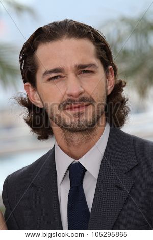 CANNES, FRANCE - MAY 19: Shia LaBeouf attends the 'Lawless' Photocall during the 65th Annual Cannes Film Festival at Palais des Festivals on May 19, 2012 in Cannes, France.
