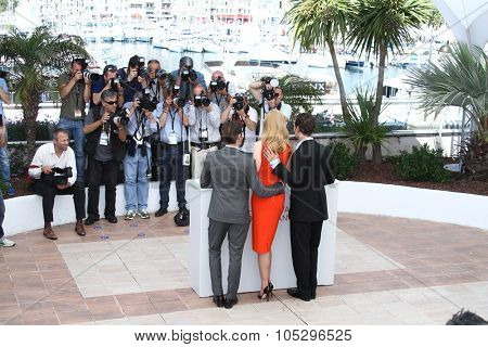 CANNES, FRANCE - MAY 24: Zack Efron, Nicole Kidman, Matthew McConaughey attends the 'The Paperboy' photocall during the 65th Cannes  Festival at Palais des Festivals on May 24, 2012 in Cannes, France.
