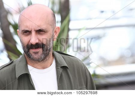 CANNES, FRANCE - MAY 23: Director Gaspar Noe attends ' 7 Dias en la Habana' Photocal at Palais des Festivals on May 23, 2012 in Cannes, France.