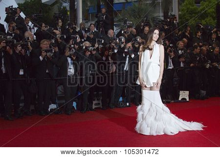 CANNES, FRANCE - MAY 18: Paz Vega attends the Premiere of 'Jimmy P. (Psychotherapy Of A Plains Indian)' at The 66th Annual Cannes Film Festival on May 18, 2013 in Cannes, France.