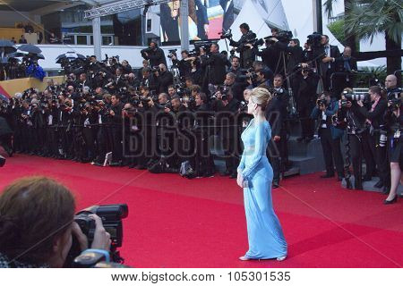 CANNES, FRANCE - MAY 18: Jane Fonda attends 'Jimmy P. (Psychotherapy Of A Plains Indian)' Premiere during the 66th Cannes Film Festival at Grand Theatre  on May 18, 2013 in Cannes, France.