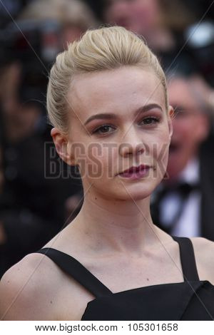CANNES, FRANCE - MAY 19: Carey Mulligan attends 'Inside Llewyn Davis' Premiere during the 66th Cannes Film Festival at Palais des Festivals on May 19, 2013 in Cannes, France.