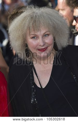 CANNES, FRANCE - MAY 23: Yolande Moreau attends the 'Nebraska' premiere during The 66th Cannes Film Festival at the Palais des Festival on May 23, 2013 in Cannes, France.