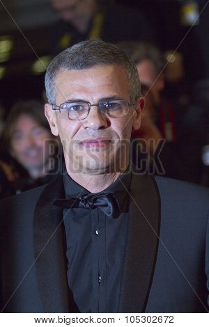 CANNES, FRANCE - MAY 23: Abdellatif Kechiche  attends the 'La Vie D'Adele' premiere during The 66th  Cannes Film Festival at the Palais des Festival on May 23, 2013 in Cannes, France.