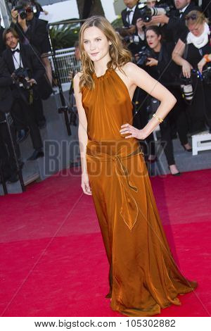 CANNES, FRANCE - MAY 24: Ana Girardot attends the premiere of 'The Immigrant' at The 66th Annual Cannes Film Festival on May 24, 2013 in Cannes, France