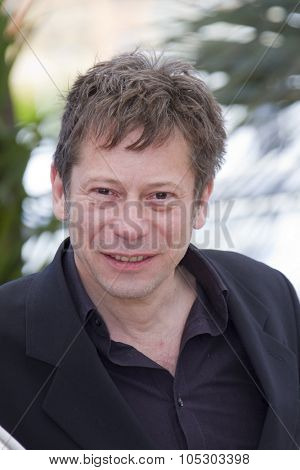 CANNES, FRANCE - MAY 25: Actor Mathieu Amalric attends the 'La Venus A La Fourrure' Photocall during the 66th Annual Cannes Film Festival on May 25, 2013 in Cannes, France.