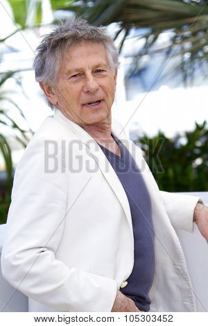 CANNES, FRANCE - MAY 25: Roman Polanski attends the 'La Venus A La Fourrure' Photocall during the 66th Annual Cannes Film Festival on May 25, 2013 in Cannes, France.