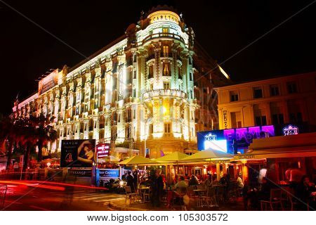 CANNES, FRANCE - MAY 25: A general view of Hotel CARLTON CANNES during the 66th Annual Cannes Film Festival on May 25, 2013 in Cannes, France.