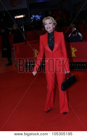 BERLIN, GERMANY - FEBRUARY 10: Caroline Sihol attends the 'Life of Riley' (Aimer, boire et chanter) premiere during 64th Berlinale  Festival at Berlinale Palast on February 10, 2014 in Berlin, Germany