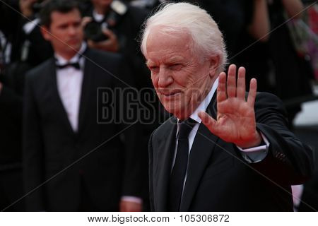 CANNES, FRANCE - MAY 14: Andre Dussollier attends the opening ceremony and 'Grace of Monaco' premiere at the 67th Annual Cannes Film Festival on May 14, 2014 in Cannes, France.