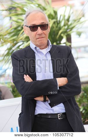 CANNES, FRANCE - MAY 21: Andre Techine attends 'L'Homme Qu'On Aimait Trop' photocall at the 67th Annual Cannes Film Festival on May 21, 2014 in Cannes, France.