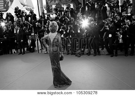 CANNES, FRANCE - MAY 14: Jane Fonda attends the opening ceremony and 'Grace of Monaco' premiere at the 67th Annual Cannes Film Festival on May 14, 2014 in Cannes, France.