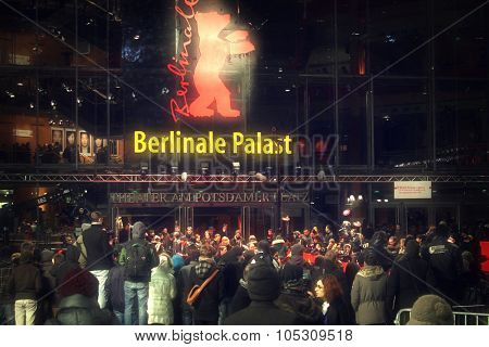 BERLIN, GERMANY - FEBRUARY 13: Berlinale Palast, the main venue at the 62th Berlinale International Film Festival on February 13, 2012 in Berlin, Germany