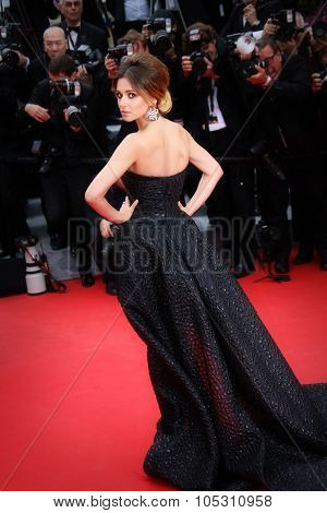 CANNES, FRANCE - MAY 19: Cheryl Cole attends the 'Foxcatcher' Premiere at the 67th Annual Cannes Festival on May 19, 2014 in Cannes, France